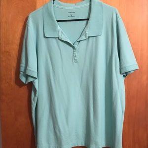 Croft & Barrow mesh golf shirt size 3X
